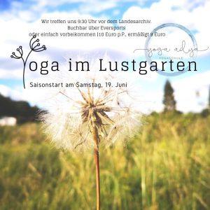 Outdoor Yoga – Wernigerode Lustgarten