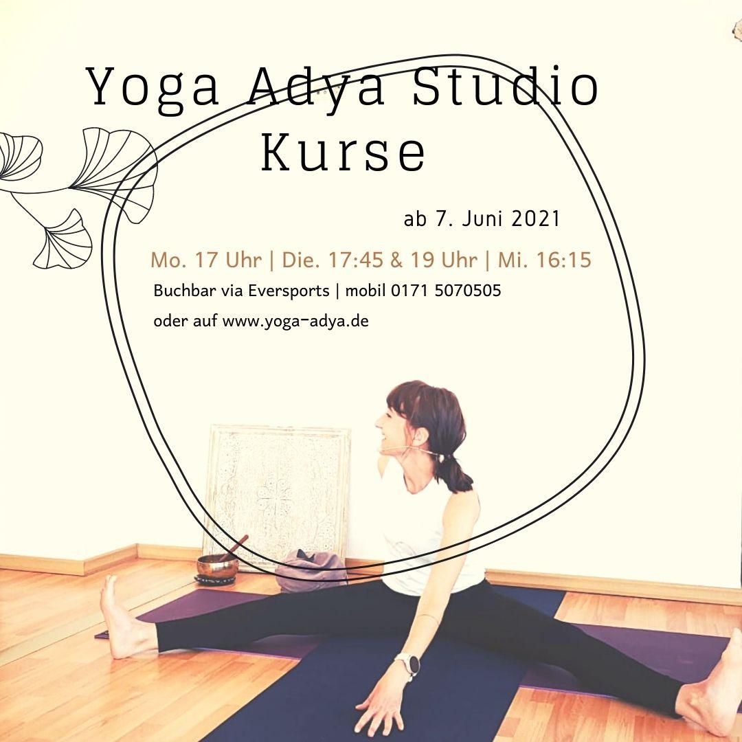 Wir sind zurück – vor Ort Yoga im Studio ist wieder möglich