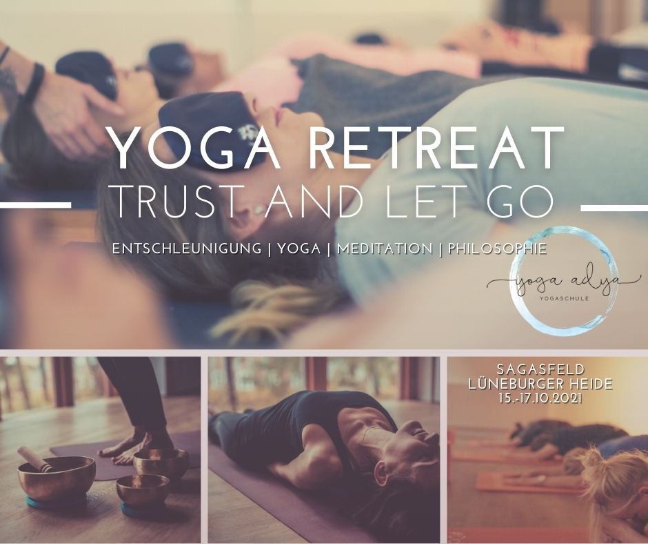 Trust and let go – dein Yoga Retreat in der Lüneburger Heide